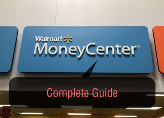 Walmart Money Center