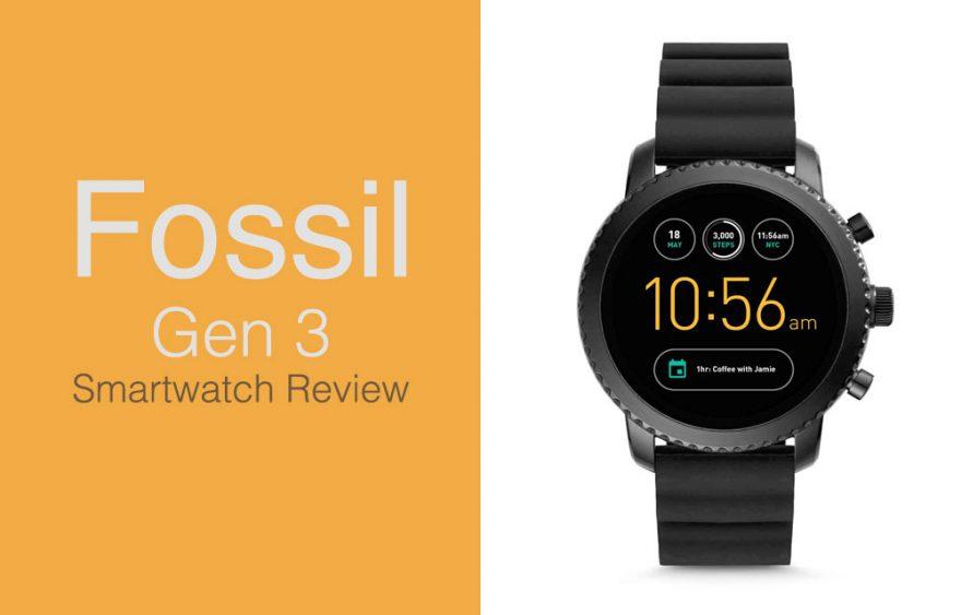 Fossil Smartwatch Gen 3